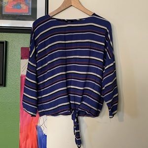 Chic Tie Front Blouse
